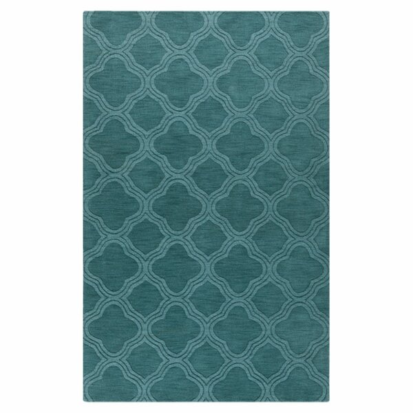 Mcnulty Teal Green Area Rug by Brayden Studio