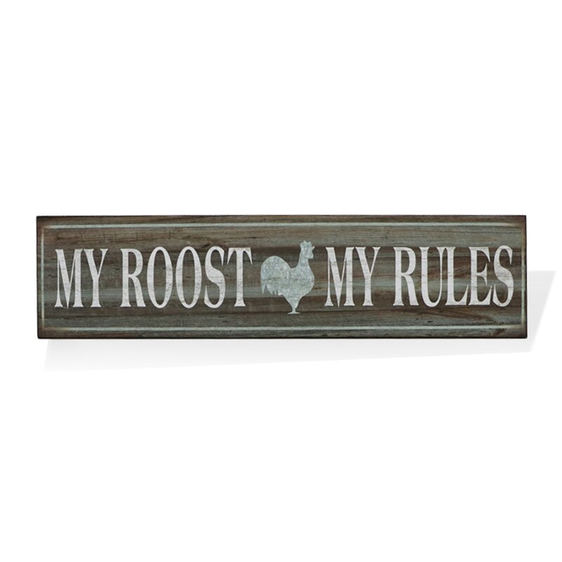 The Cat/'s Rules country barn pet tin metal sign wall hanging lights US SELLER