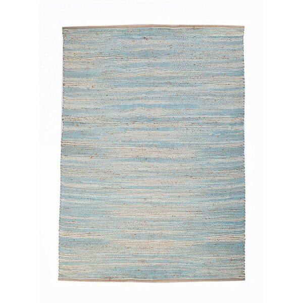 Noam Aqua Blue Area Rug by Highland Dunes