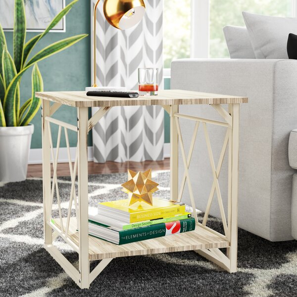 Raymundo End Table by Wrought Studio