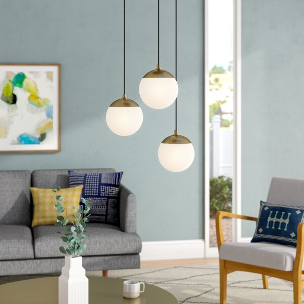 Kara 3-Light Cluster Pendant by Langley Street