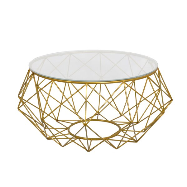 Whelan Wire Coffee Table By Wrought Studio