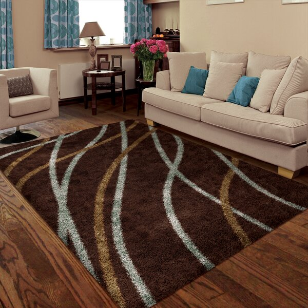 Denning Brown Area Rug by Threadbind