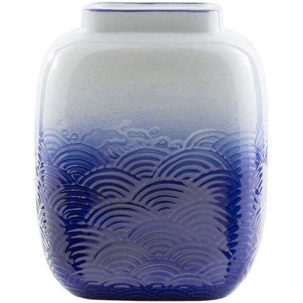 Finbar Coastal Waves 2 Piece Table Vase Set by Alcott Hill