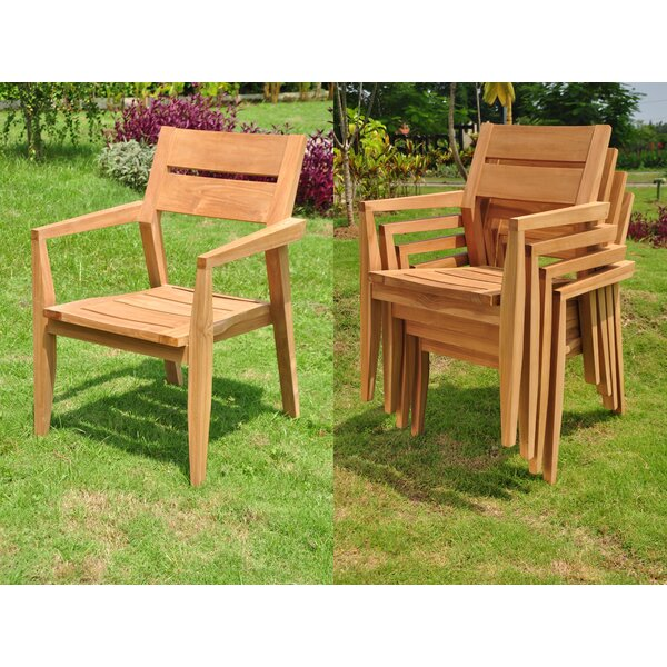 Hawes 7 Piece Teak Dining Set by Rosecliff Heights