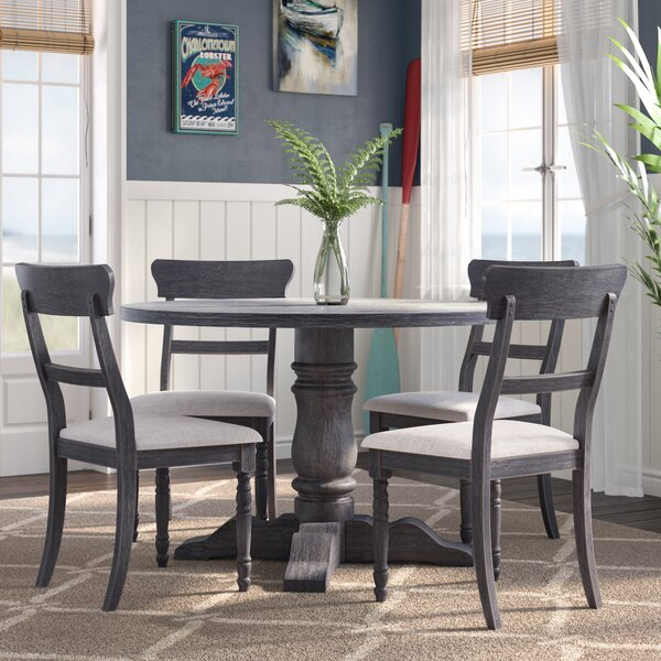 Silverman 5 Piece Dining Set by Longshore Tides