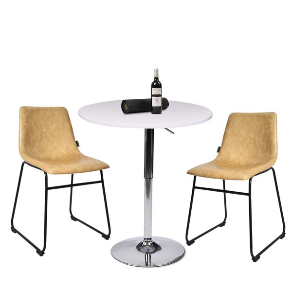 Getir 3 Piece Counter Height Dining Set by Orren Ellis