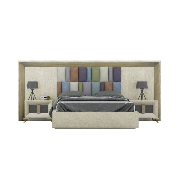 Helotes Upholstered Standard Bed by Orren Ellis
