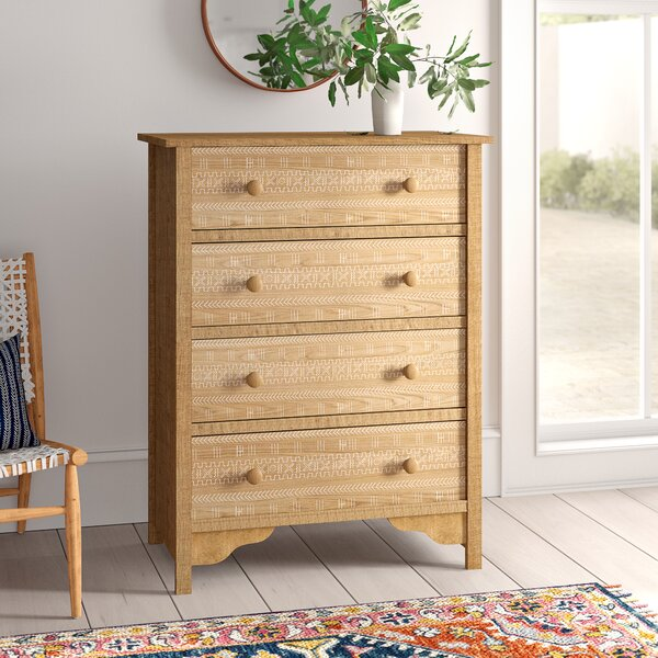 Collier 4 Drawer Chest by Mistana