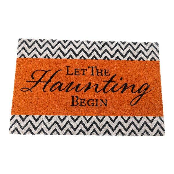 Mcclaran Let the Haunting Begin Doormat by Floor 9