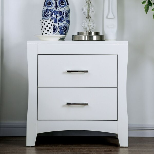 Milian 2 Drawer Nightstand by Latitude Run