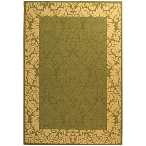 Marland Olive/Natural Outdoor Area Rug