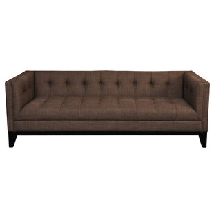 Eudora 3 Seater Chesterfield Sofa Wrought Studio