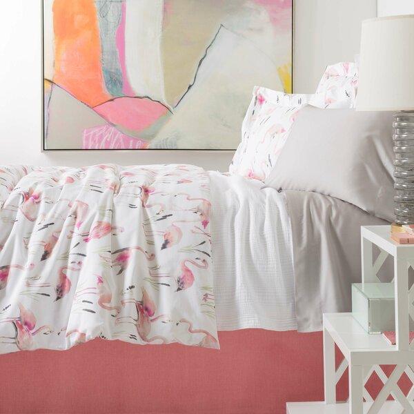 Flamingos Single Reversible Duvet Cover