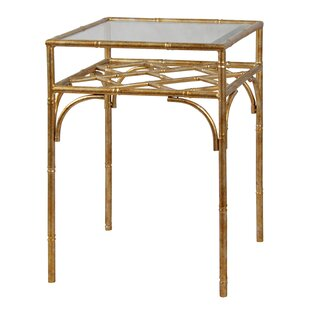 Dunbar Bamboo Styled End Table by Mercer41