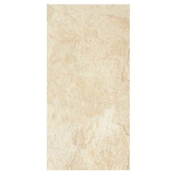 Element 18 x 36 Porcelain Field Tile in Gold by Casa Classica