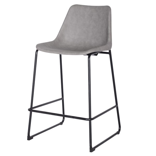 Sein 26.5 Bar Stool by 17 Stories