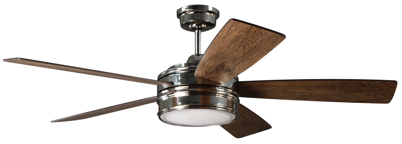 52 Mathers 5 Blade LED Ceiling Fan With Remote