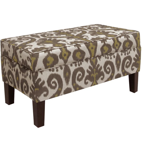 Hogans Upholstered Storage Bench by Alcott Hill