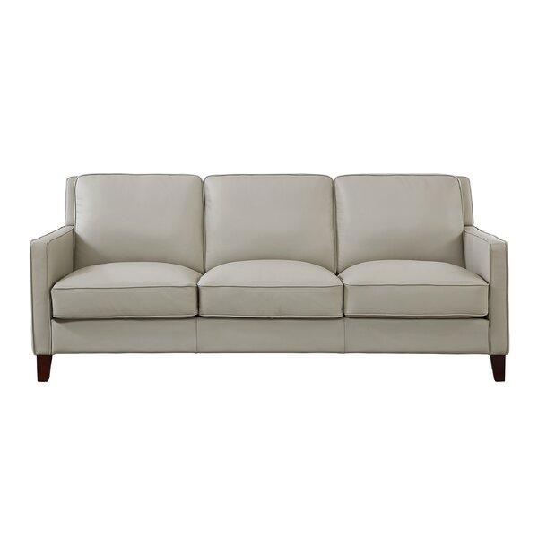Deals Price Dieman Leather Sofa