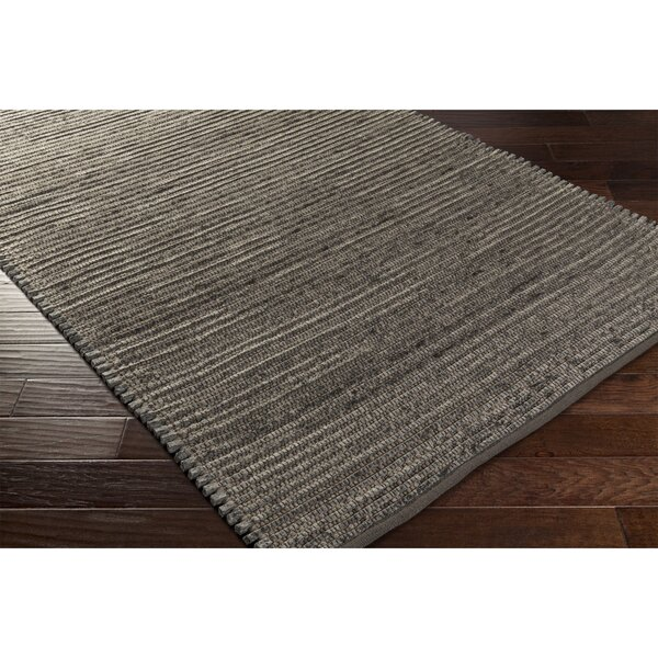 Eastchester Hand-Woven Gray/Brown Area Rug by George Oliver
