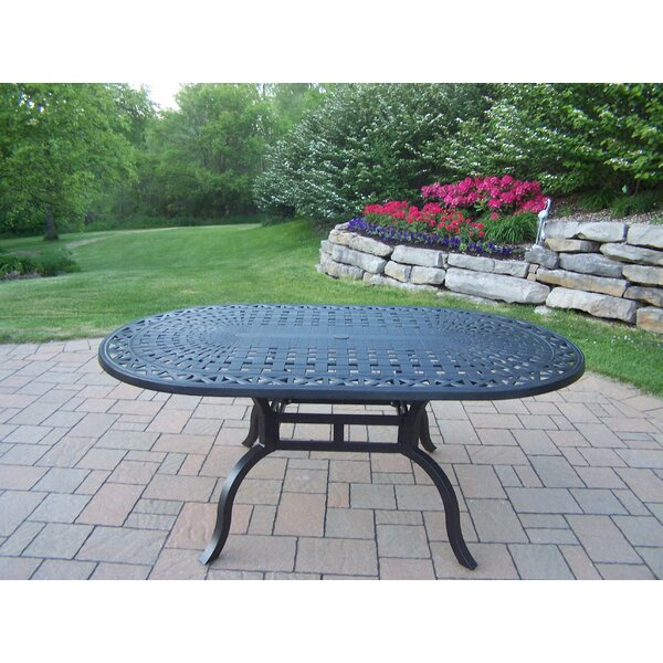 Bosch Aluminum Dining Table by Darby Home Co