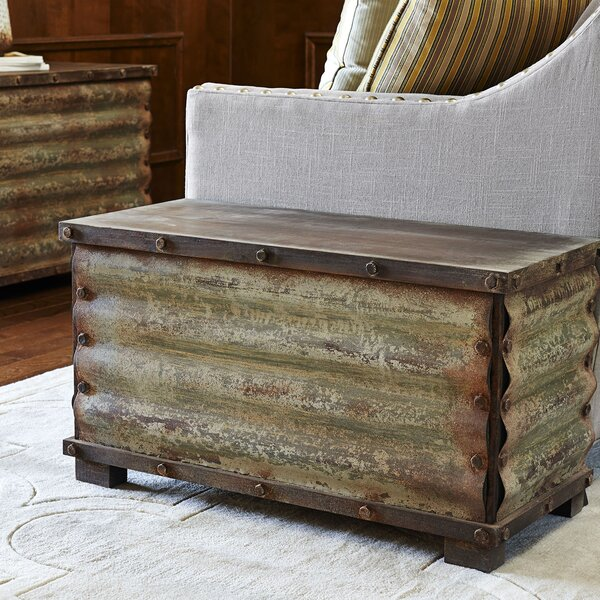 Carbondale Corrugated Coffee Table Trunk by Trent Austin Design