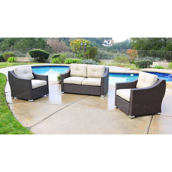 Suai 3 Piece Sofa Seating Group With Cushions By Brayden Studio by Brayden Studio Read Reviews