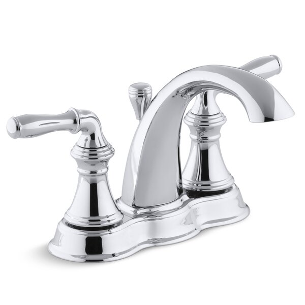 Devonshire Centerset Bathroom Sink Faucet with Drain Assembly by Kohler