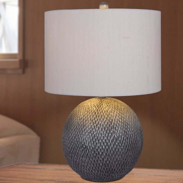 Lawndale Resin 23.5 Table Lamp by Bay Isle Home