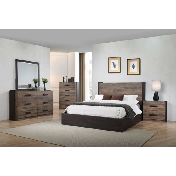 Riddick Platform Configurable Bedroom Set By Loon Peak by Loon Peak Best Choices