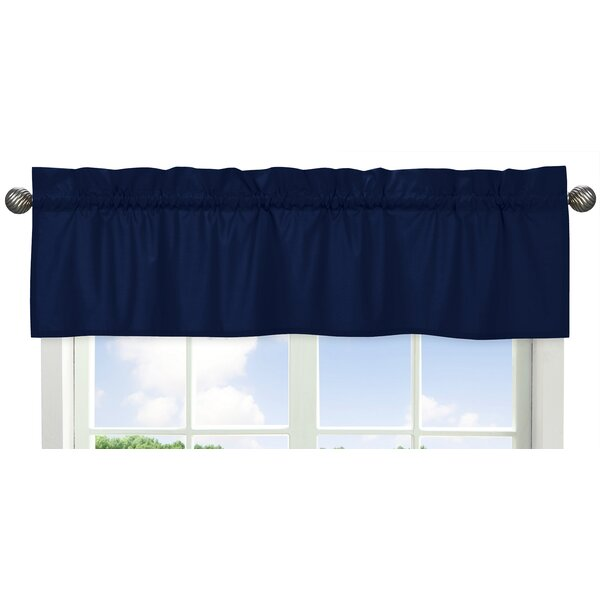 Solid Navy Curtain Valance by Sweet Jojo Designs