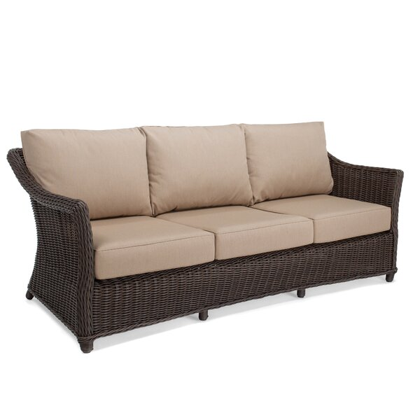 Breeze Patio Sofa with Cushions by Winston
