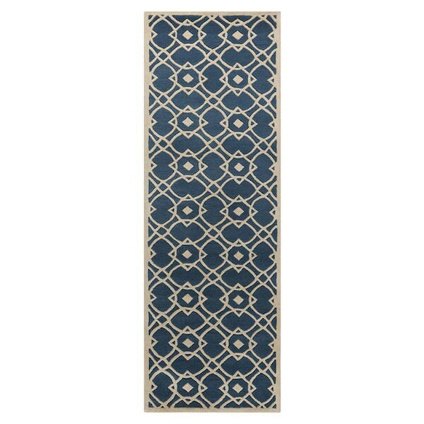 Quenton Navy Area Rug by Charlton Home