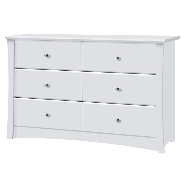 Crescent 6 Drawer Double Dresser by Storkcraft