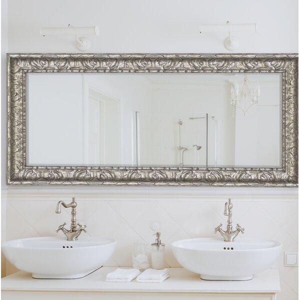 Vintage Silver Wall Mirror by Willa Arlo Interiors