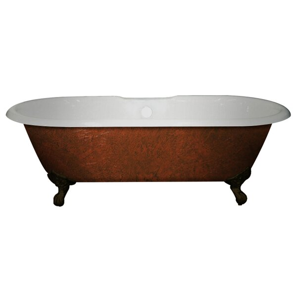 Cast Iron Clawfoot 60 x 30 Freestanding Soaking Bathtub by Cambridge Plumbing
