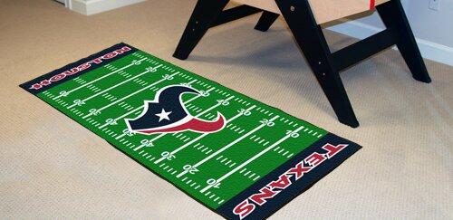 NFL - Houston Texans Football Field Runner by FANMATS