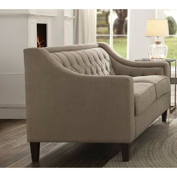 Chic Collection Riverside Drive Loveseat by Charlton Home by Charlton Home