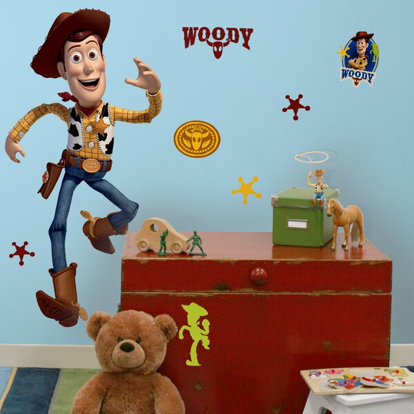 Toy Story Woody Giant Wall Decal by Room Mates