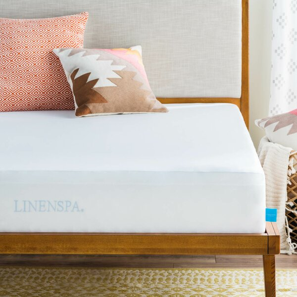 Smooth Hypoallergenic Waterproof Mattress Protector by Linenspa