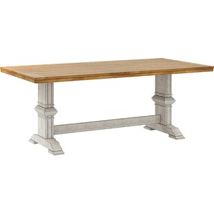 Trestle White Kitchen U0026 Dining Tables Youu0027ll Love | Wayfair