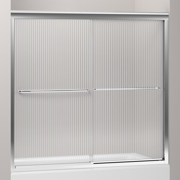 Fluence 59.63 x 55.75 Bypass Bath Door with CleanCoat® Technology by Kohler