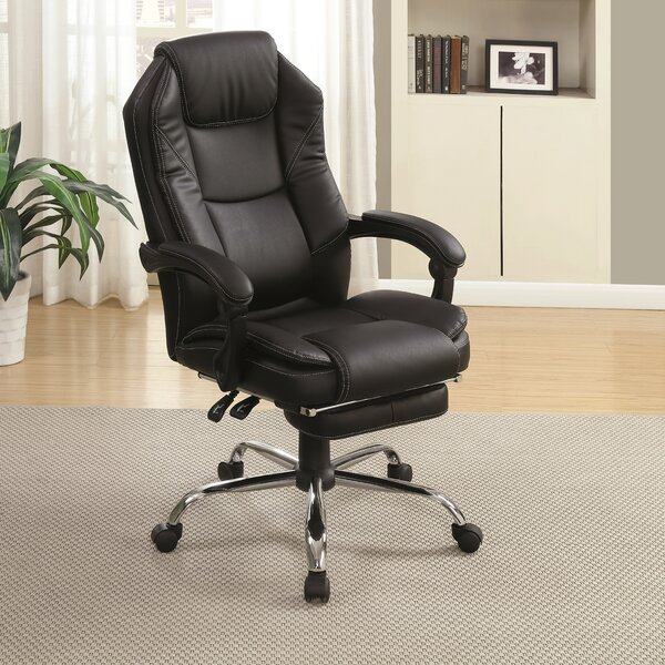 Larksville Contemporary Office High-Back Executive Chair by Latitude Run
