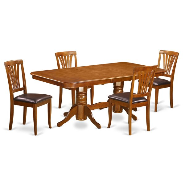 Pillsbury 5 Piece Extendable Dining Set by August Grove August Grove