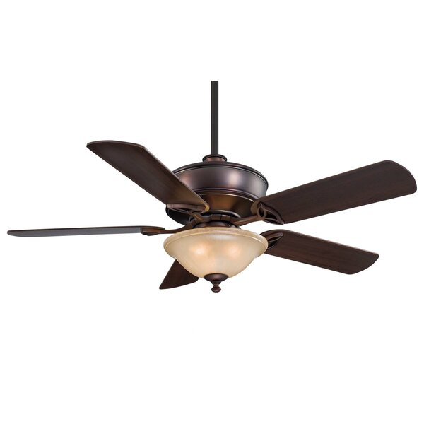 52 Bolo 5-Blade Ceiling Fan with Remote by Minka Aire