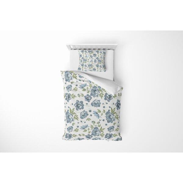Crisler Flower Comforter Set