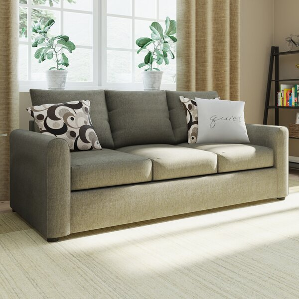 Serta Upholstery Martin House Modern Sofa Bed by Red Barrel Studio
