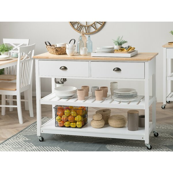 Sansom Kitchen Cart by Canora Grey
