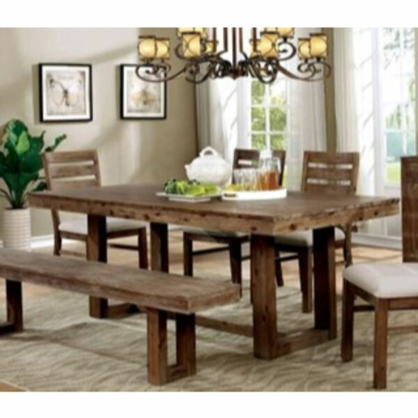 Sensational Carpenter 6 Piece Solid Wood Dining Set By Union Rustic Creativecarmelina Interior Chair Design Creativecarmelinacom